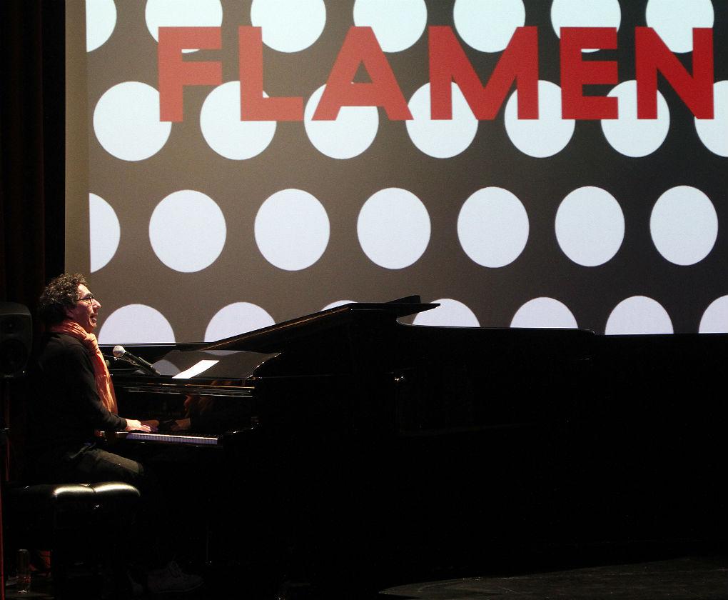 en la presentación del libro «Flamenca» de Raquel Revuelta. Foto: Manuel Gómez
