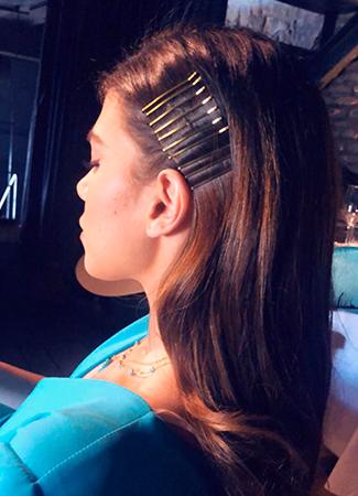 peinados con horquillas Ana Espejo