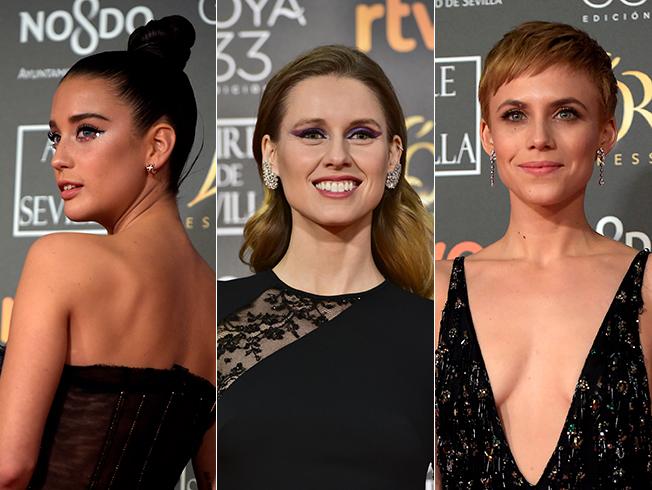 Los mejores looks de belleza de los Goya 2019