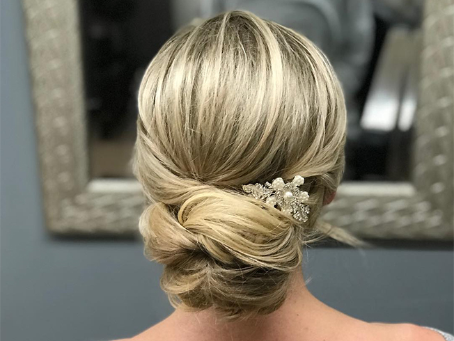 Recogidos para cabello fino