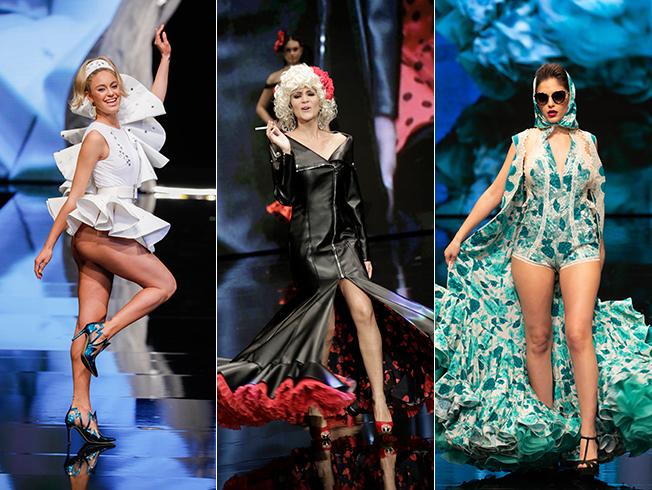 SIMOF 2019: Los trajes de flamenca más arriesgados de la pasarela