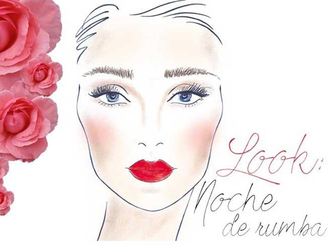 look maquillaje flamenca noche de rumba