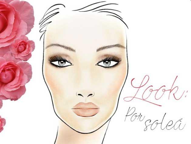 look maquillaje flamenca por solea