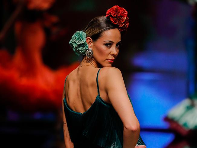 SIMOF 2019: cómo llevar las flores de flamenca