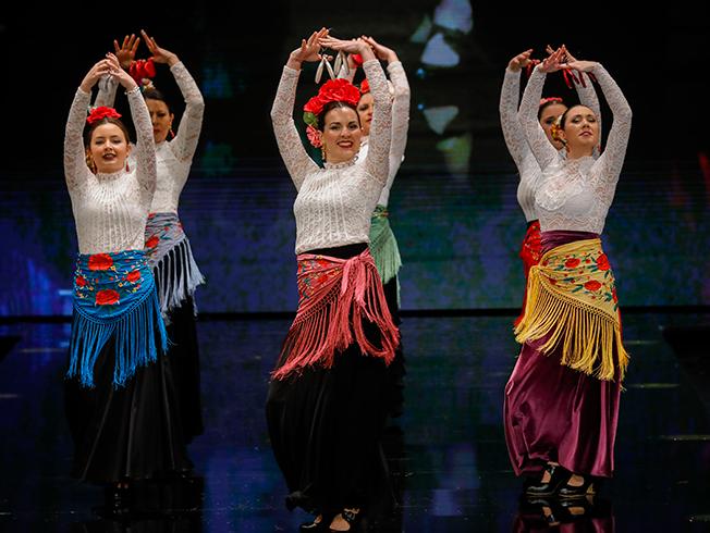 SIMOF 2019: el desfile Corazón Flamenco de MOF&ART, en fotos