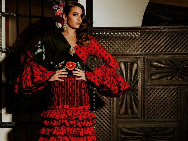 Sorteo de traje de flamenca de Pilar Vera en SIMOF 2019