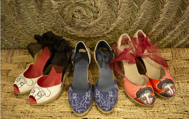 Zapatos de mujer de Sara Navarro en colaboración con Raúl Velloso