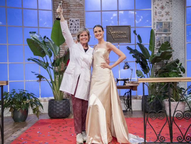 Rosa León, ganadora de Maestros de la Costura 2
