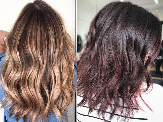 Cinco tendencias de coloración para cambiar de look