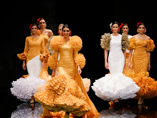Tendencias en colores para la flamenca 2019