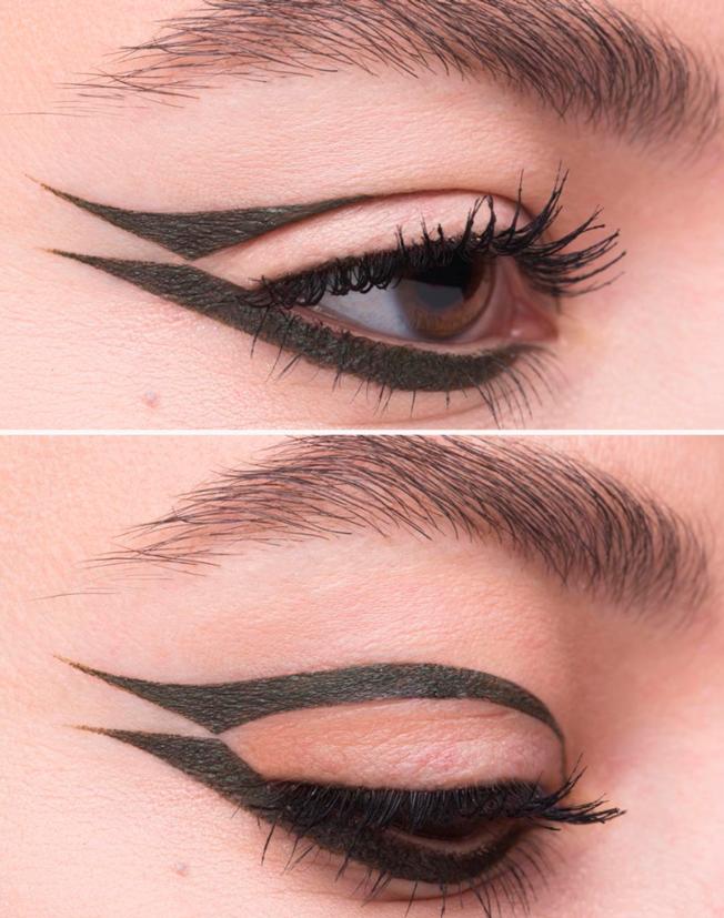 Ideas para lucir un «eyeliner» gráfico de tendencia - Bulevar Sur