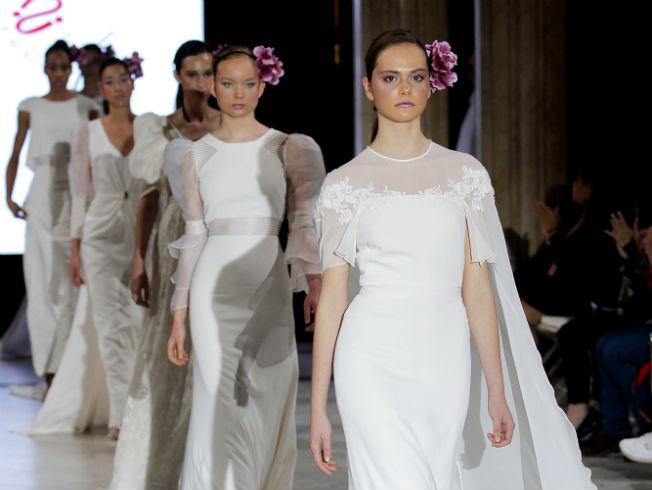 Desfile de Pol Núñez con su colección de vestidos de novia 2020
