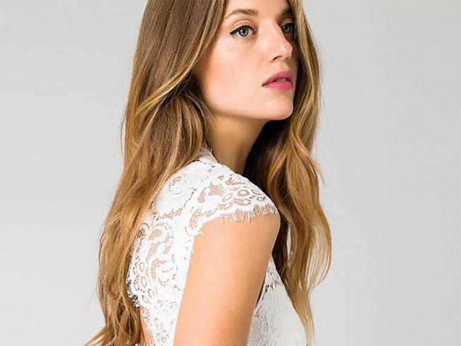 Diez vestidos de novia económicos 2019