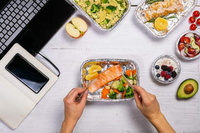 Consejos comer en el trabajo