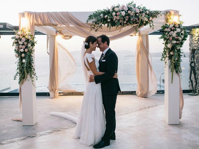 La destination wedding de María José Suárez. Foto: Doncel y Alcoba