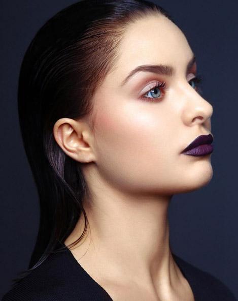 labios oscuros rostro