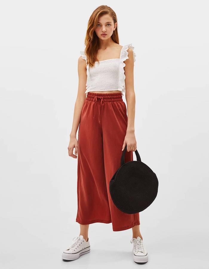vestir deportivas pantalon culotte