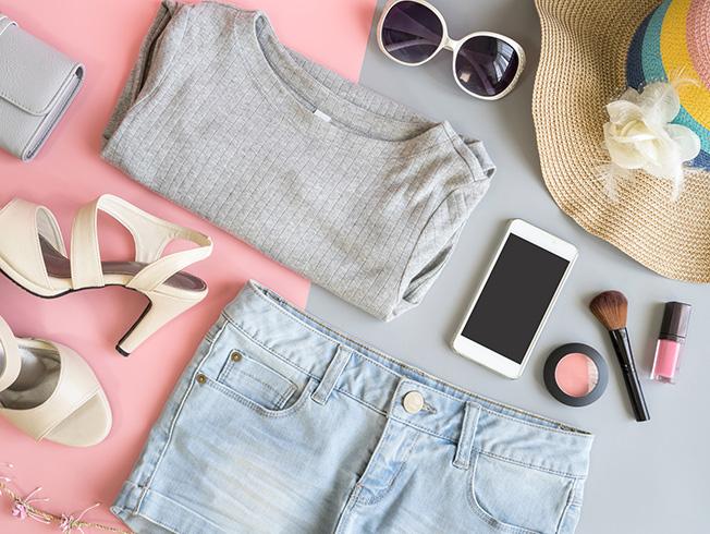Productos de belleza y cosméticos para ir de viaje