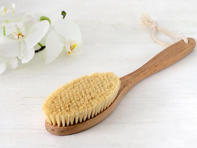 cepillo seco celulitis