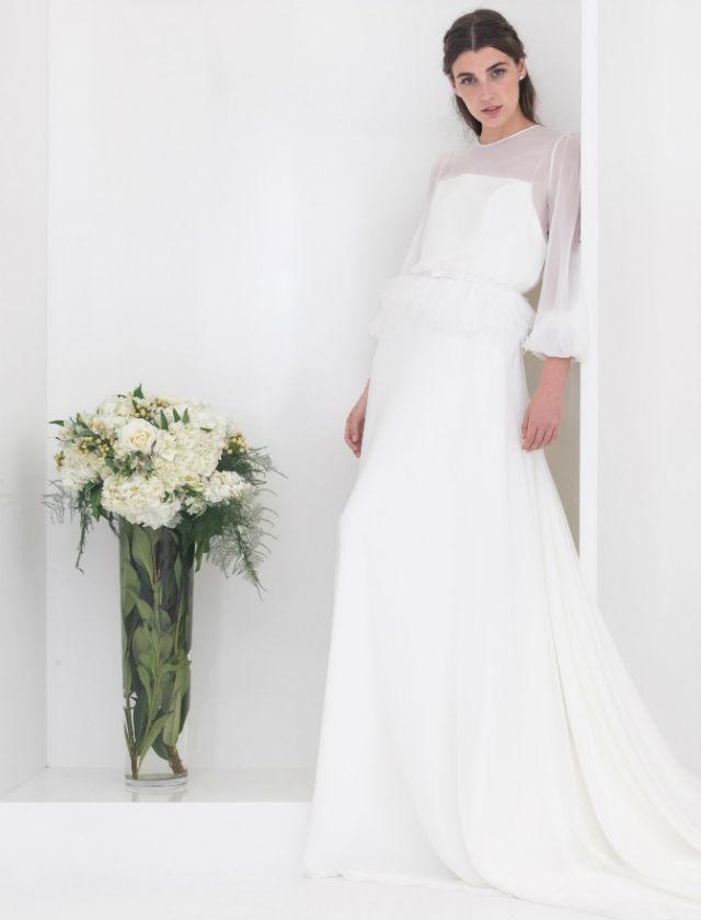 Vestidos de novia de Fátima Álvarez-Ossorio. Foto: Tomás Muruaga