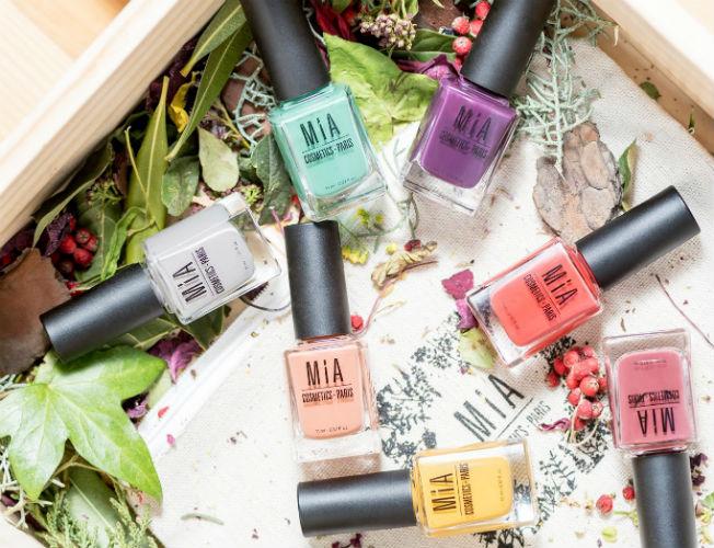 Esmaltes de uñas de Mia Cosmetics