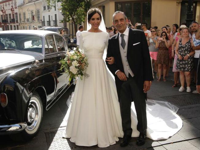 Boda de Rocío Osorno: vestido de novia de Rocío Osorno