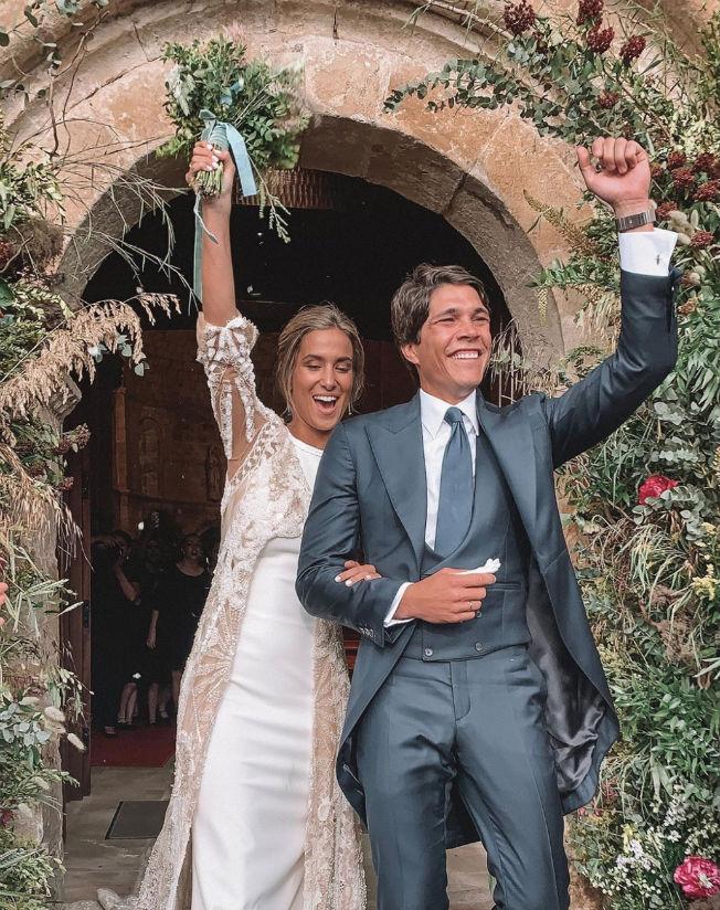 Vestido de novia de María Pombo