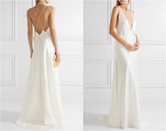 Vestido lencero para una boda