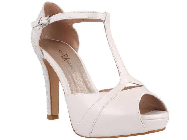 Zapatos de novia de Belén Esteban