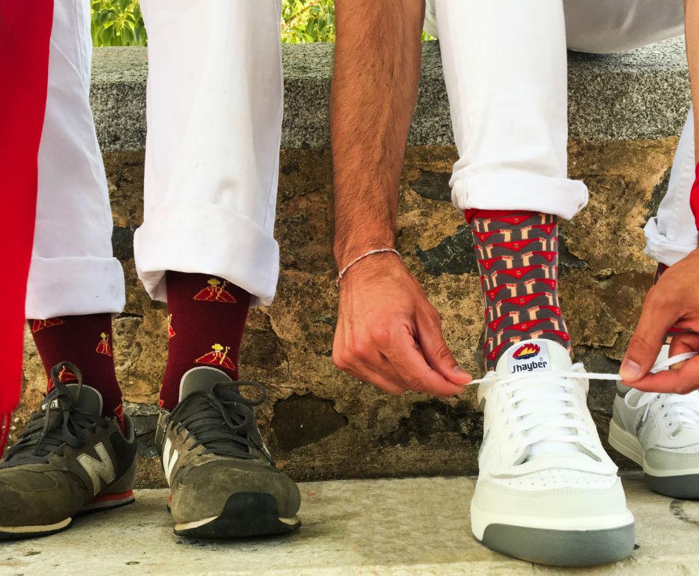 Calcetines de San Fermín de Pepe Pinreles