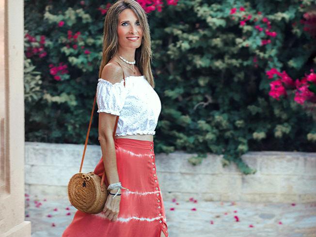 Falda de moda para el verano 2019