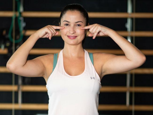 Ejercicios de yoga facial de Diana Bordón y su Facial Yoga Plan