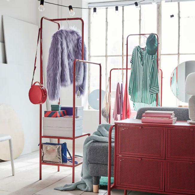 Burro de ropa de Ikea