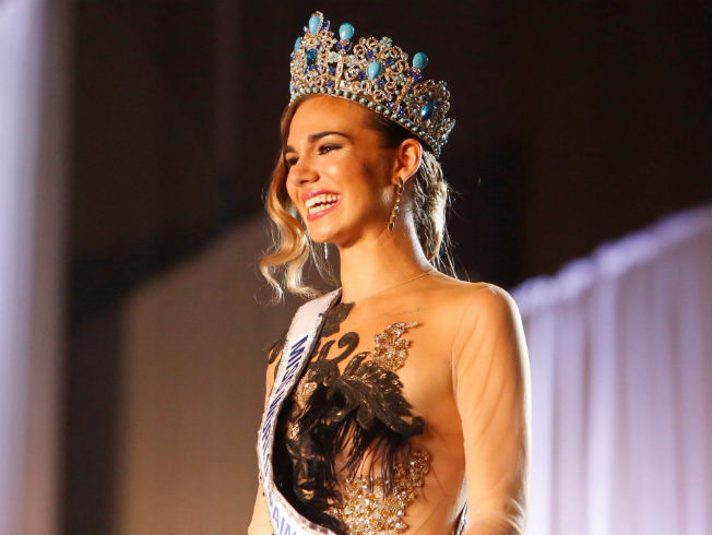 María del Mar Aguilera es Miss World Spain 2019. Foto: EFE