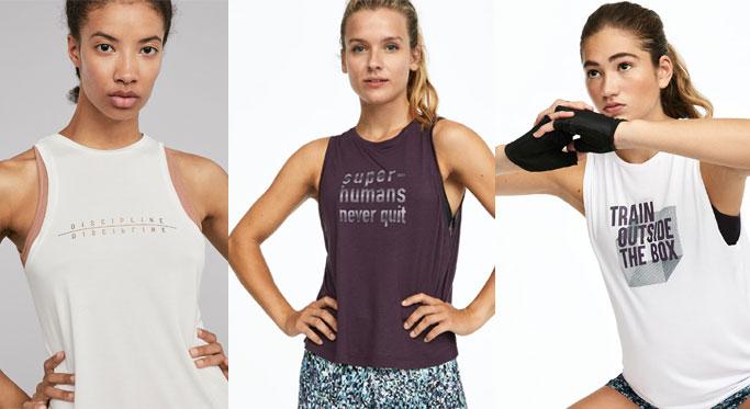 camisetas mensaje ropa deportiva