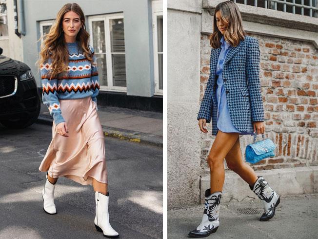 Cómo llevar las botas «cowboy», tendencia otoño-invierno 2019