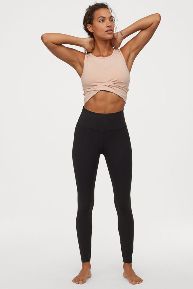cropped top gimnasio