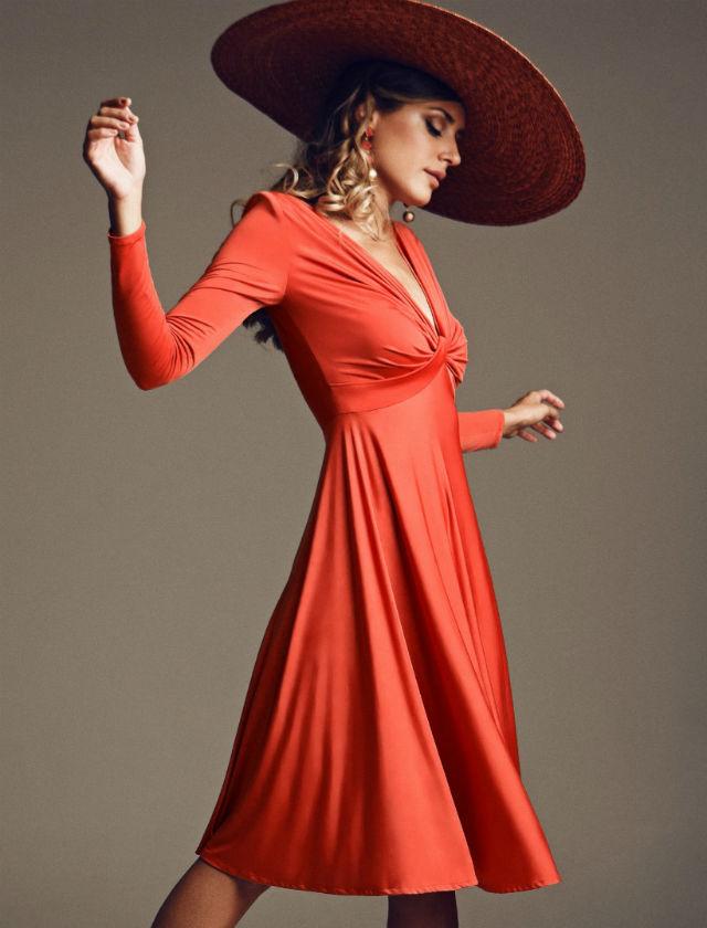 Vestido de invitada de otoño de Patricia Bazarot