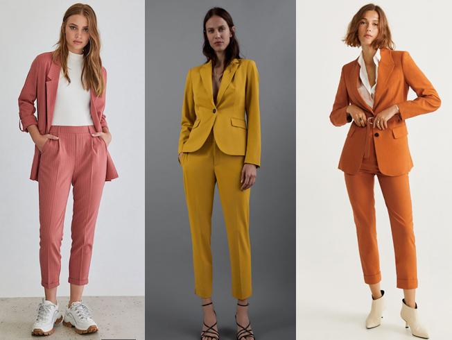 Traje de pantalón para mujer: básico de tendencia para este