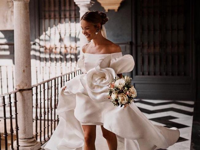 Vestidos de novia en Instagram