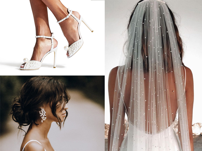 Perlas para novias, tendencia para 2020