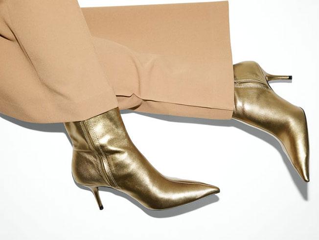 Tendencia zapatos metalizados: tú también caerás