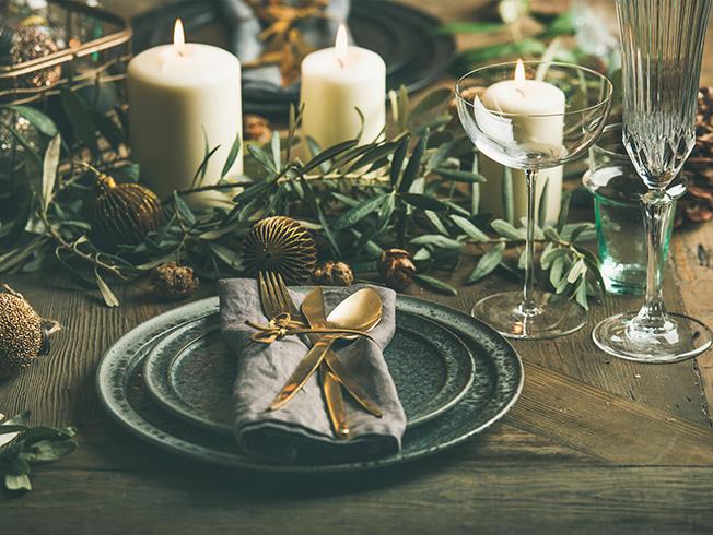 Diez ideas para triunfar con la decoración de la mesa de Navidad