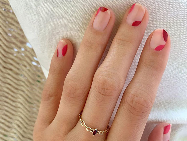 Ideas de manicuras para uñas cortas
