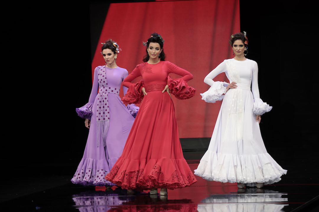 SIMOF 2020: el desfile de la provincia de Yolanda Moda Flamenca, en fotos