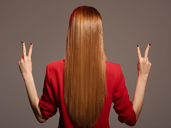 Seis formas de alisar el pelo sin planchas