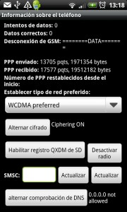 Información oculta sobre tu teléfono Android