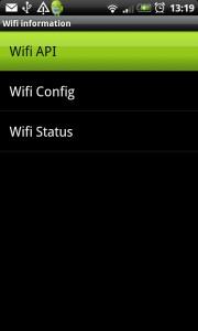 Información secreta sobre el acceso Wifi en Android