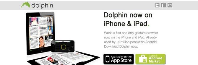 La navegación web móvil del mañana, con Dolphin Browser