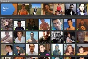 Página de inicio de contactos en Badoo para Android